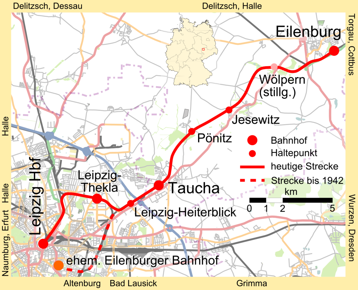 LeipzigEilenburg railway Wikipedia