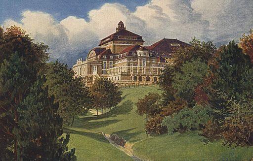 Kassel Hoftheater Postkarte um 1910