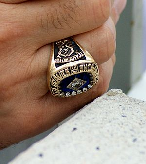 Stan Kasten - Kasten's World Series ring