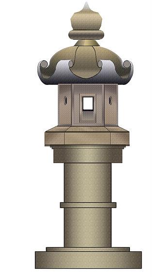 Tōrō - Kasuga-dōrō garden lantern.