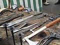 Kaziuko mugė dirbiniai iš geležies.jpg