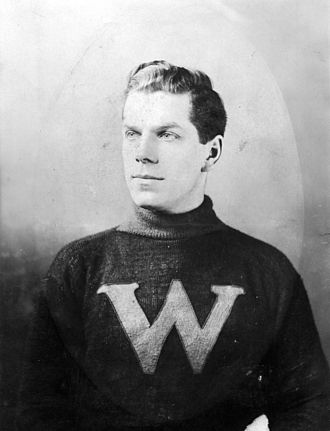 Ken Mallen - Ken Mallen with the New Westminster Royals in 1912.