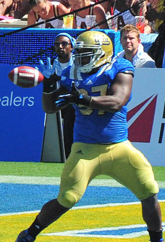 Kenny Clark (defensive tackle) - Catching a touchdown pass for UCLA