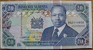 Banknote 20 Kenia-Schilling