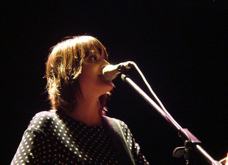 Keren Ann performing
