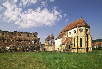 Romania in the Middle Ages - Ruins of the Cârța Monastery