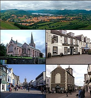 Keswick, Cumbria Town and parish in the English Lake District National Park