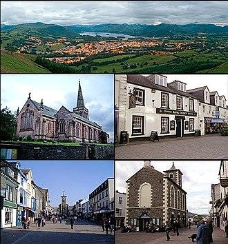 Keswick, Cumbria - Image: Keswick montage 2