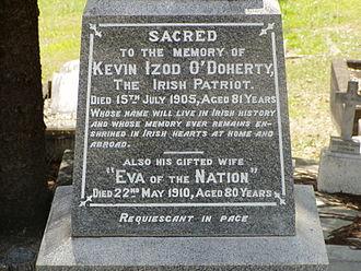 Kevin Izod O'Doherty - Image: Kevin Izod O'Doherty Monument