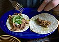 Kid-size pork taco at Tropisueno (14274906483).jpg