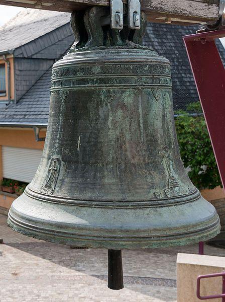 D'Kiercheklack vu 1769 zu Miedernach.