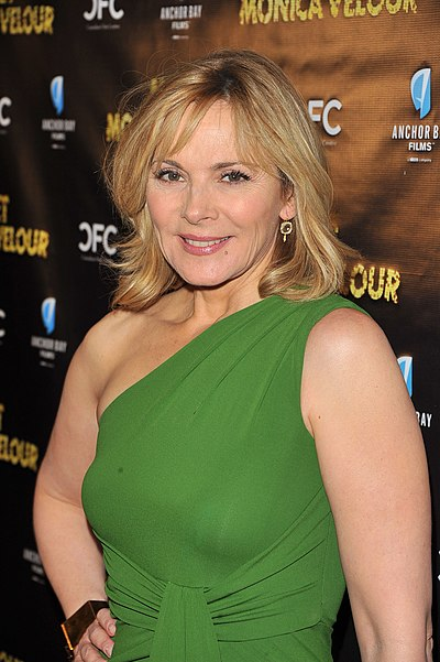 Kim Cattrall, British-Canadian actress