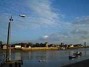 King's Lynn as viewed from across the River Great Ouse