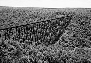 Kinzua Bridge - Image: Kinzuabridge 1