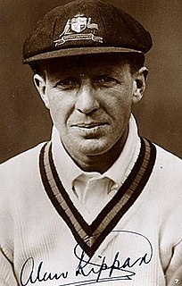 Alan Kippax Australian cricketer