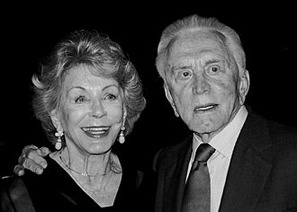 The couple at the 2003 Jefferson Awards where she won an award Kirk & Ann attend Jefferson awards.jpg