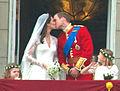 Kiss Wedding Prince William of Wales Kate Middleton (revised).jpg