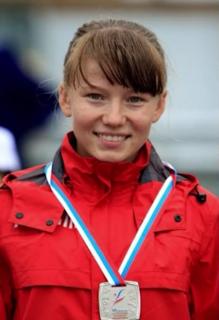 Klavdiya Afanasyeva Russian racewalker