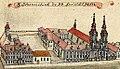 Kościół św. Jana w Legnicy - F. B. Werner, Topographia oder Prodromus Delineati Principatus Lignicensis Bregensis, et Wolaviensis.jpg