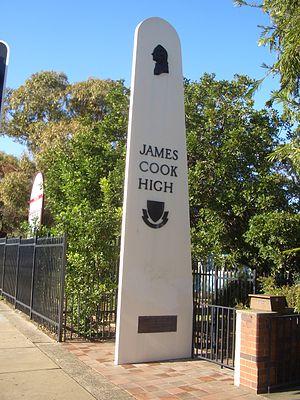 James Cook Boys Technology High School - Entrance sign