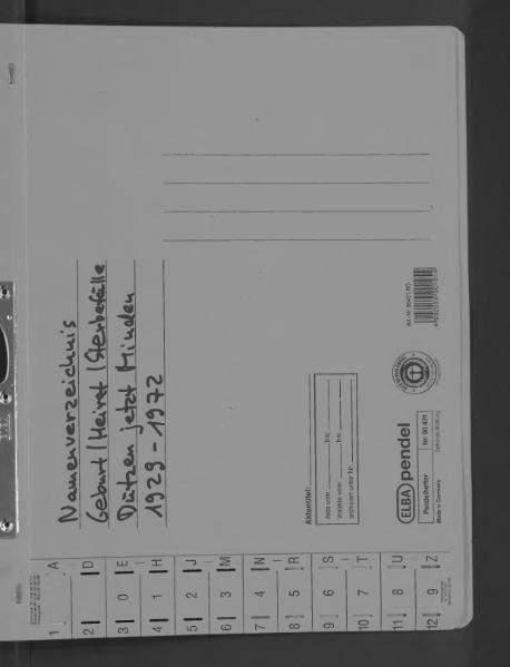 File:Kombiniertes Namensverzeichnis zu den Geburts-, Heirats- und Sterberegistern des Standesamtes Dützen, 1929 bis 1972.djvu