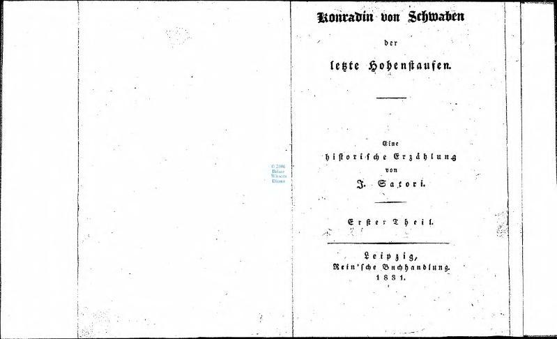 File:Konradin von Schwaben der letzte Hohenstaufen 1.djvu