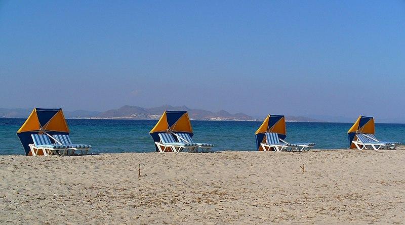 Tigaki beach in Kos