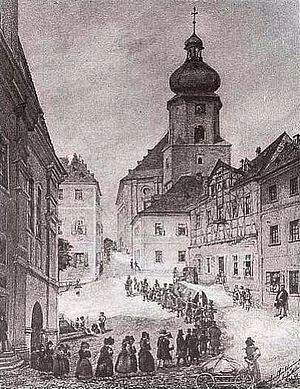 Aš - Church attendance in Asch, 19th century
