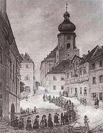 Aš - Church attendance in Asch, 19th century