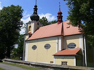 Saint George's church in Pivín