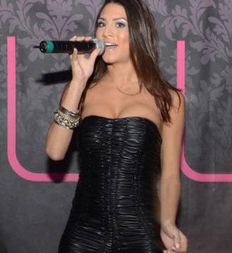 Kristina Maria - Kristina Maria, Luxy Nightclub's showcase, Toronto, Ontario.