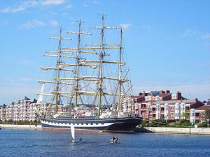 Kruzenshtern Wilhelmshaven 2012.JPG