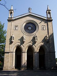 Preĝejo de Sankta Marteno en Krzeszowice.