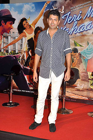Kunal Kohli - Kunal Kohli at the launch of the promo of his movie Teri Meri Kahaani in 2012