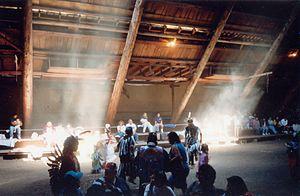 Penelakut Island - Image: Kuper Island Longhouse
