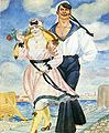 Kustodiyev - Sailor and His Girl.JPG