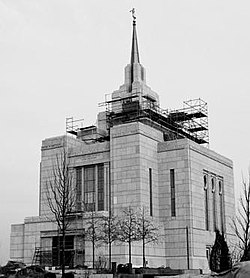 Kyiv Ukraine temple near completion by Jeremy Bechthold.JPG