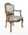 Länstol, 1700-talets mitt - Hallwylska museet - 110059.tif