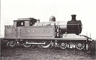 LB&SCR I2 class - Image: LB&SCR I2 class