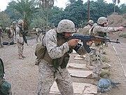 LCpl Cheema on the AK-47