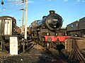 LNER Class B1 steam locomotive No 61264 at Anglia Trains Crown Point depot Norwich.jpg
