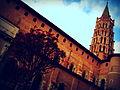 La Basilique Saint-Sernin a Toulouse.JPG