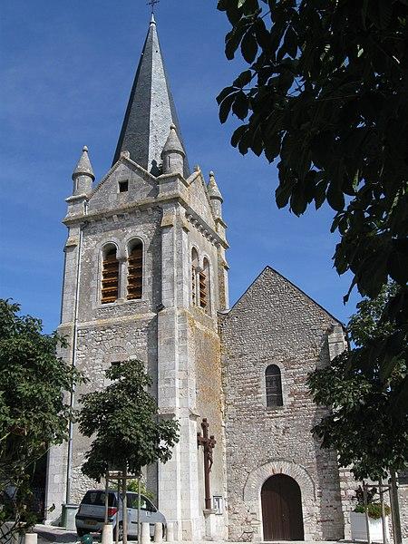 Église Saint-Mesmin, La Chapelle-Saint-Mesmin, Loiret, France