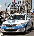 La Française des Jeux Tour 2010 stage 1 start.jpg