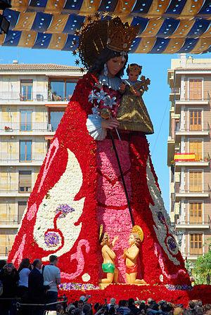 Virgen de los desamparados - Image: La Geperudeta
