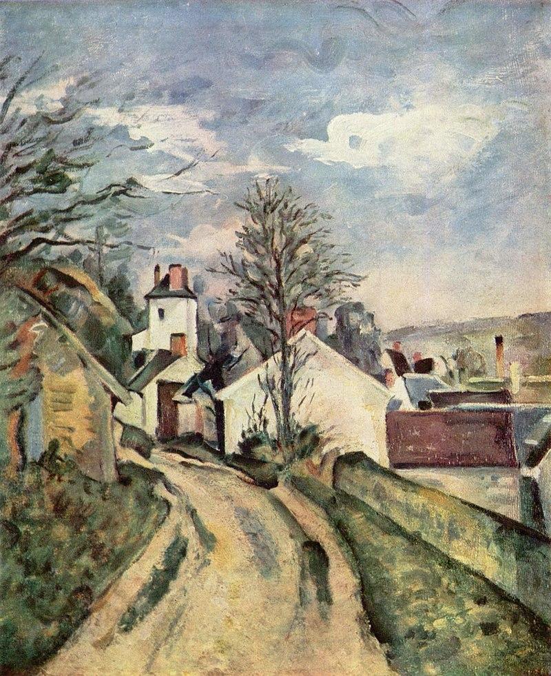La Maison du Docteur Gachet à Auvers, par Paul Cézanne.jpg
