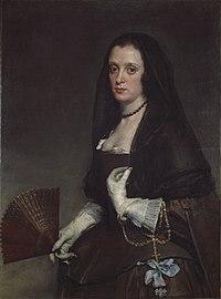 La dama del abanico, por Diego Velázquez.jpg
