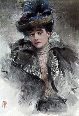 Gertrude Elizabeth Blood - Lady Colin Campbell by Percy Anderson