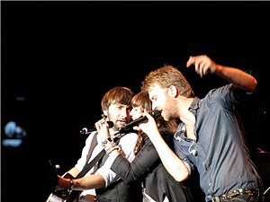 Lady Antebellum - Lady Antebellum performs in concert in April 2011