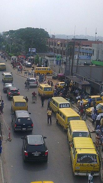 Automotive industry in Nigeria - Kombi bus-predecessor of Lagos Yellow Bus